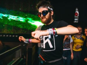 BRADLEY GUNN RAVER DANCED 24 HOURS STRAIGHT FOR CHARITY
